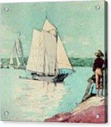 Clear Sailing Acrylic Print
