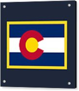 Colorado Flag Acrylic Print
