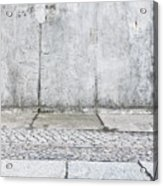 Concrete Background Acrylic Print