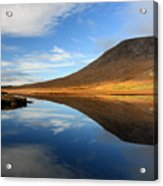 Connemara Lake Reflection Acrylic Print