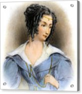 Countess Teresa Guiccioli Acrylic Print