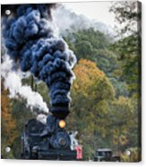 Country Railroad Crossing Acrylic Print