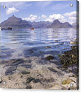 Cuillin Mountains From Elgol Acrylic Print
