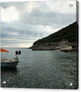 Cunski Beach And Coastline, Losinj Island, Croatia Acrylic Print