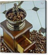 Daily Grind Coffee Acrylic Print