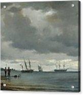 Danish Seascape Acrylic Print