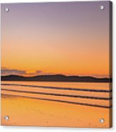 Dawn Seascape With Clouds Acrylic Print