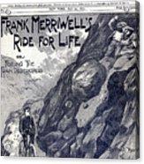 Dime Novel, 1897 Acrylic Print