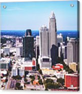 Downtown Charlotte Acrylic Print