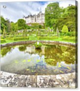 Dunrobin Castle Reflected Acrylic Print