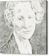 Edna St. Vincent Millay Acrylic Print