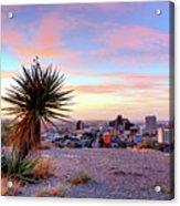 El Paso, Texas Acrylic Print