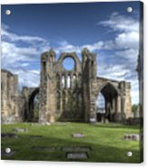 Elgin Cathedral Acrylic Print