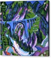 Ernst Ludwig Kirchner Acrylic Print