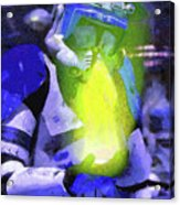 Execute Order 66 Blue Team Commander - Camille Style Acrylic Print