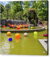 Chihuly Exhibition In The Atlanta Botanical Garden. #01 Acrylic Print