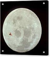 Fifi Goes To The Moon Acrylic Print