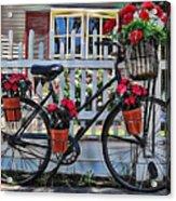 Flower Bike Collection Acrylic Print