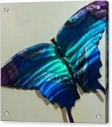 Fly Away Butterfly Acrylic Print