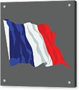 France Flag Acrylic Print