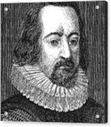 Francis Bacon, English Polymath Acrylic Print