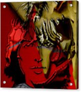 George Harrison Art Acrylic Print