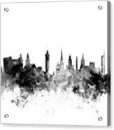 Glasgow Scotland Skyline Acrylic Print