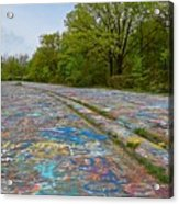 Graffiti Highway, Facing North Acrylic Print