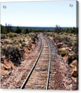 Grand Canyon Railway Acrylic Print by Thomas R Fletcher
