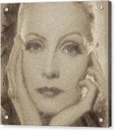 Greta Garbo, Vintage Hollywood Actress Acrylic Print