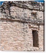 Grupo Nohoch Mul At The Coba Ruins  Acrylic Print