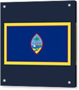 Guam Flag Acrylic Print