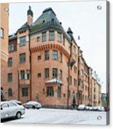 Helsinki At November Acrylic Print