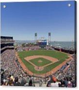 Home Of The San Francisco Giants Acrylic Print