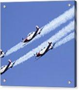 Iaf Acrobatic Team Acrylic Print