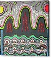 Ilwolobongdo Abstract Landscape Painting2 Acrylic Print