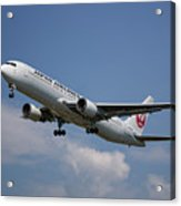 Japan Airlines Boeing 767-346 Acrylic Print