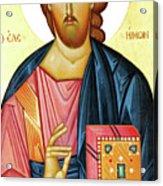 Jesus Teaching Acrylic Print