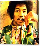 Jimmy Hendrix Acrylic Print