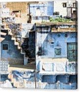 Jodhpur Blue City Acrylic Print