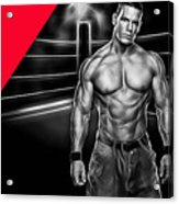 John Cena Wrestling Collection Acrylic Print
