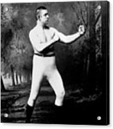 John L. Sullivan (1858-1918) Acrylic Print