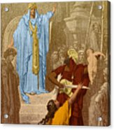 Judgment Of Solomon Acrylic Print