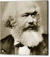 Karl Marx Acrylic Print
