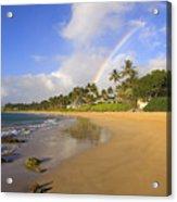 Keawakapu Beach Acrylic Print
