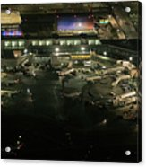 Laguardia Airport Aerial View Acrylic Print