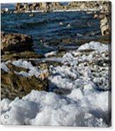 Lakefront At Mono Lake, Eastern Sierra, California, Usa Acrylic Print