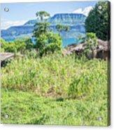 Landscape At The Lake Malawi Acrylic Print
