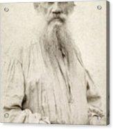 Leo Tolstoy (1828-1910) Acrylic Print