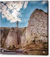 Lighthouse On The Cliff Acrylic Print